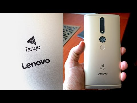 Google Tango, Now in Your Pocket (Lenovo PHAB2 Pro)