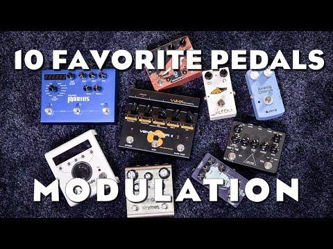 My 10 favorite Modulation Pedals (6/7)