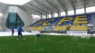 Tricolorii s-au antrenat la Ploiești, pe stadionul