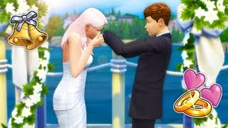 IT'S WEDDING DAY!💍 // The Sims 4 | City Living S2 #18