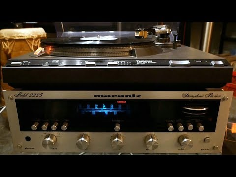 Technics SL-3310 on Marantz 2225
