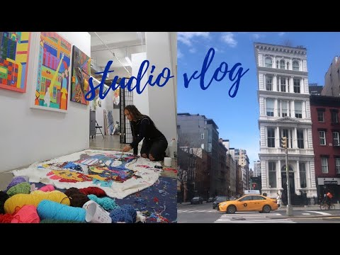 Studio vlog | art school life at Pratt Institute