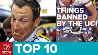Top 10 Things The UCI Have Banned