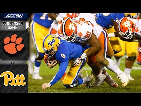 Clemson vs. Pittsburgh ACC Championship Condensed Game | 2018 ACC Football