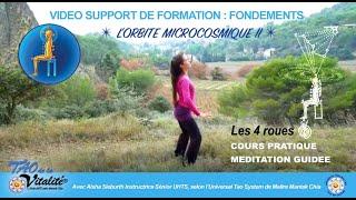 Présentation de l'Orbite Microcosmique 2 / LES 4 ROUES avec Aisha Sieburth Tao de la Vitalité®