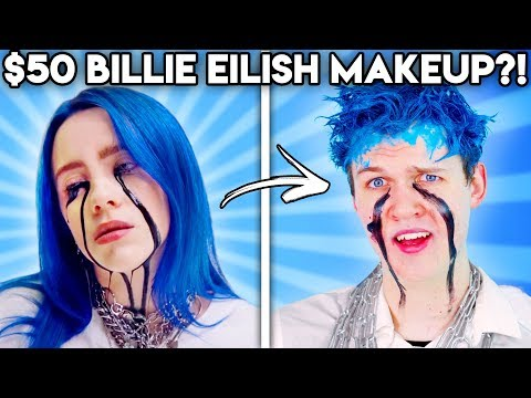 Can You Guess The Price Of These BILLIE EILISH BEAUTY PRODUCTS!? (GAME)