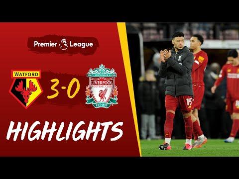 Highlights: Watford 3-0 Liverpool   Reds suffer first Premier League defeat