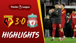 Highlights: Watford 3-0 Liverpool | Reds suffer first Premier League defeat