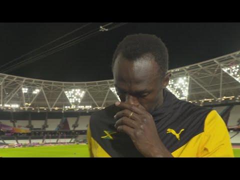 WCH 2017 London - Usain Bolt JAM 100 Metres Bronze