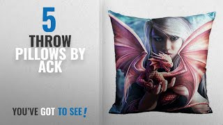 Video Top 10 Ack Throw Pillows [2018]: NEW ANNE STOKES FANTASY, DRAGON, FAIRY ART, DECORATIVE FABRIC THROW download MP3, MP4, WEBM, AVI, FLV April 2018