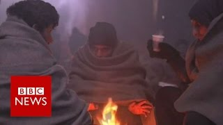 Winter freeze claiming rmigrant lives across Europe   BBC News