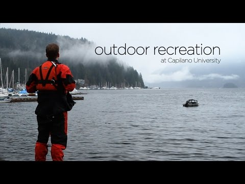 Outdoor Recreation at Capilano University (Part 1)