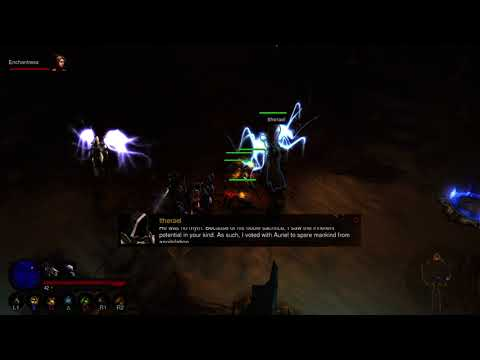 Diablo III: Ultimate Evil Edition - PS4 - Act IV Quest 03 - Beneath the Spire (Blind, Witch Doctor)