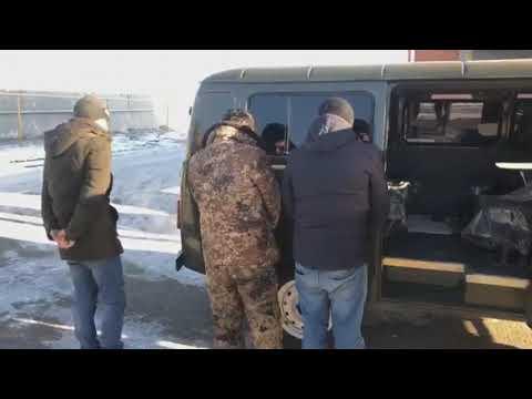 Задержание мигрантов на границе Саратовской области