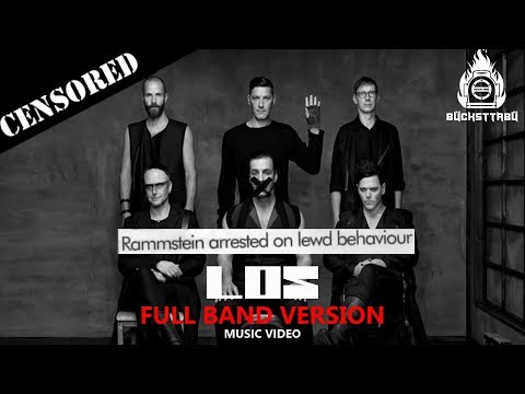 Rammstein - Los: Full Band Version (Music Video) English Subtitles