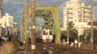 【211系の日‼️⑩】普通列車浜松行き(詳しい編成は普不明) 浜田踏切通過‼️
