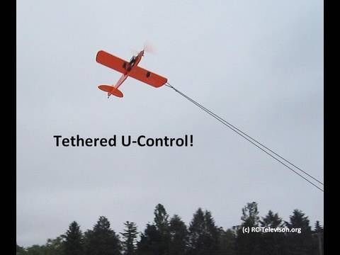 Tethered Rc Quot Buster Quot Ukie Airplane With Rc Elevator And