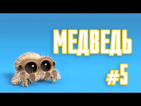 Мультик   Паучок Лукас - Медведь #5 (Серия на Русском) 0+