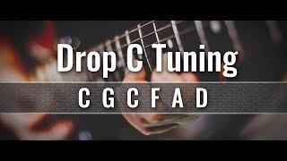 drop c guitar tuner (cgcfad)