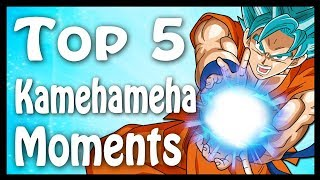 Top 5 Kamehameha Moments in Dragon Ball | Dragon Ball Code