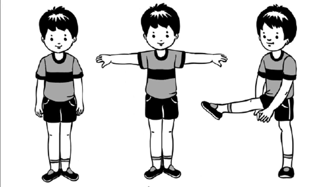 упражнения в картинках для малышей уже