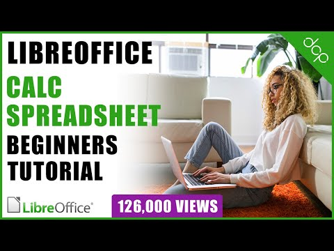 Libre Office  - Calc Spreadsheet Beginners Tutorial - DCP Web Designers Tutorial