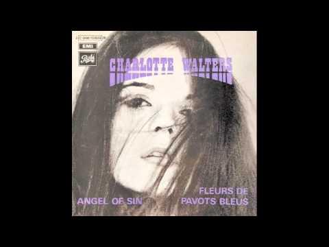 Charlotte Walters - Fleurs de pavots bleus