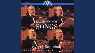 6 Songs, Op. 8: No. 3. Duma (Brooding)