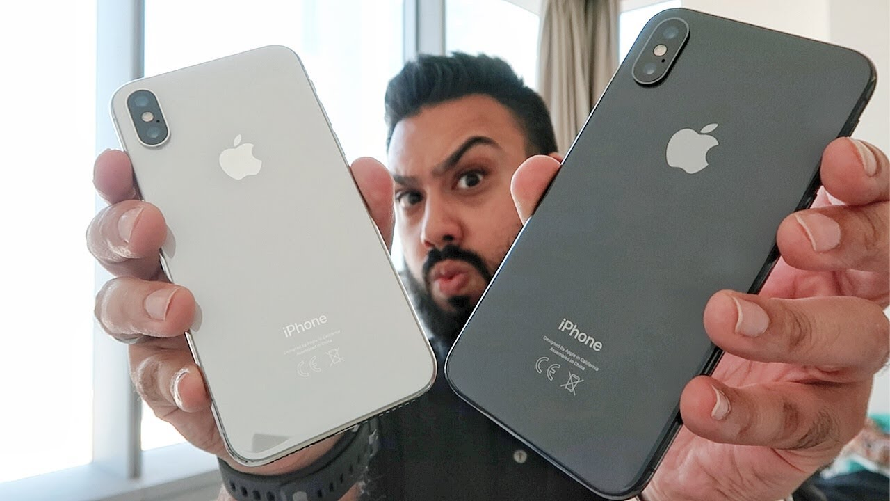 Iphone X Space Gray Vs Silver