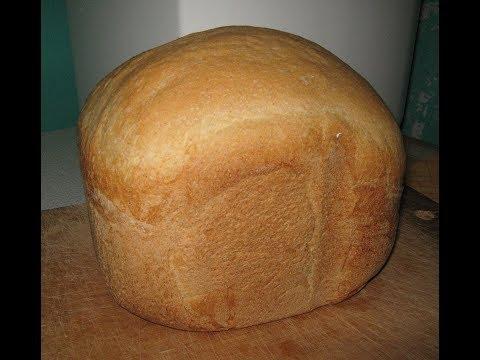 Хлеб. Рецепт и Выпечка Домашнего Белого Хлеба в Хлебопечки.