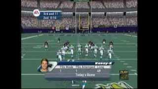 EA Sports Madden 2002 (X Box) Game Play