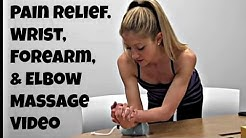 Fix Wrist Pain with this Wrist, Elbow, and Forearm Massage Video.