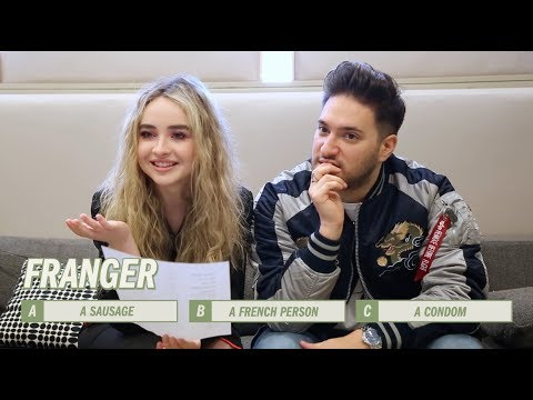 Sabrina Carpenter and Jonas Blue | Artists vs Aussie Slang