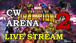 Civil Warrior Arena - Part 2 | Marvel Contest of Champions Live Stream thumbnail