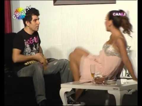 Yeliz Şar Olay Sahne Bacaklarını Yalatıyor Canay tv