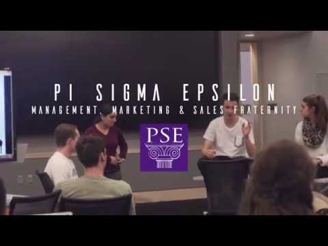 University of Michigan - Pi Sigma Epsilon Recruitment Video