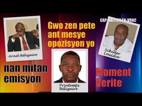 ZEN PETE: Arnel Bélizaire deklare si Martelly poze kandidati l pou prezidan lap bon ankò