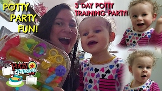 3 DAY POTTY TRAINING - THIRD DAY! 2.12.17 Day 511