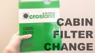 Corsa D- Cabin Filter change