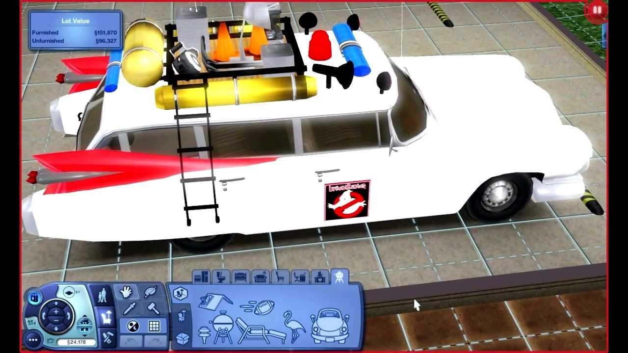 Sims  Car Crash Mod