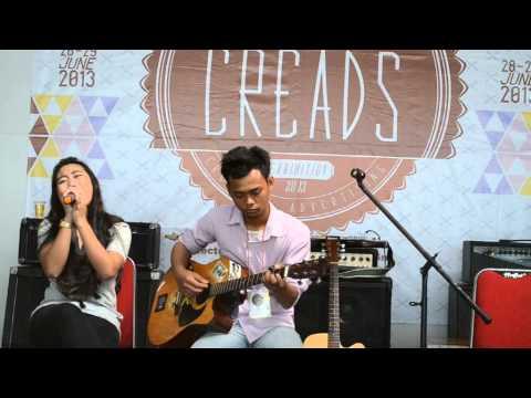 Christina Perri - A thousand Years, Cover by Sabrina feat Khumaidhi Kamal at Creads 2013