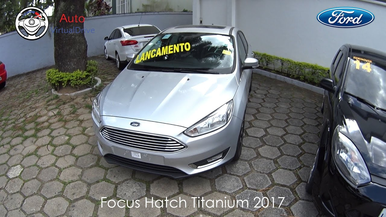 avalia o ford focus hatch titanium 2017 autovirtualdrive youtube. Black Bedroom Furniture Sets. Home Design Ideas