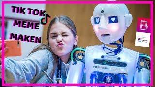 Tik Tok Meme Maken Met Echte Robot @ Brighthack | Emma Keuven