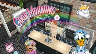 👪The sims freeplay //good morning☉⏰
