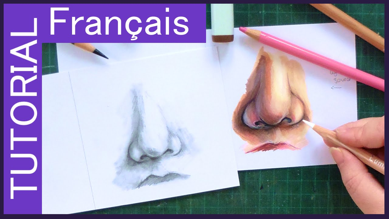 Tutoriel Fr Dessin Et Colorisation Du Nez Copic Marker
