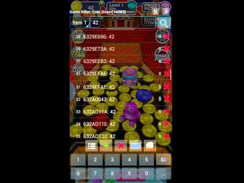 How to hack Coin Dozer with game killer