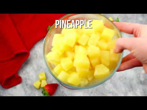 strawberry pineapple punch long