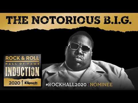 Long John - Whitney Houston, Notorious B.I.G. 2020 Rock & Roll Hall of Fame Nominees