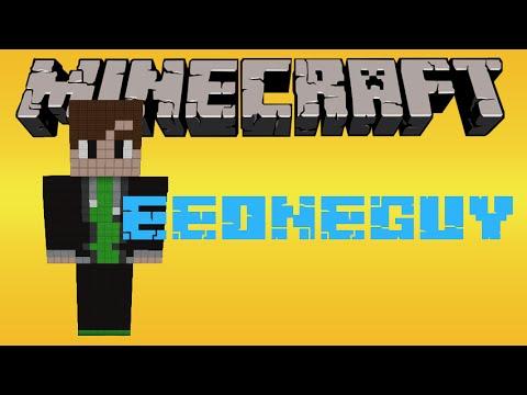 как построить EeOneGuy в minecraft
