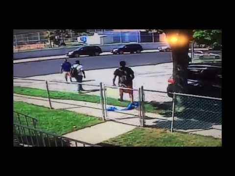 Two more filmed tampering with blue ribbons on Staten Island